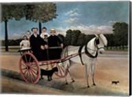 Father Juniet's Cart Fine-Art Print