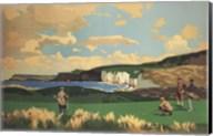Vintage Golf - Golf In Northern Ireland Fine-Art Print