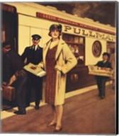 Vintage Travel - Queen Of Scots Fine-Art Print