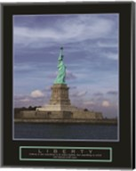 Liberty-Statue of Liberty Fine-Art Print