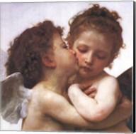 The First Kiss Fine-Art Print