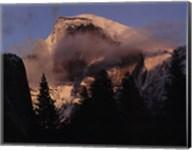 Half Dome, Winter Sunset, Yosemite Fine-Art Print