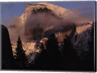 Half Dome, Winter Sunset, Yosemite Fine-Art Print