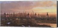 Blackfeet Camp Fine-Art Print