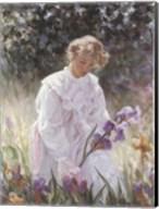 Iris Garden Fine-Art Print