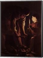 Saint Joseph the Carpenter, ca. 1645 Fine-Art Print