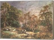 Landscape With Resting Men Fine-Art Print