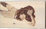 Nude Lying on Her Stomach Fine-Art Print
