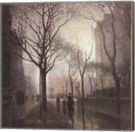Plaza After the Rain Fine-Art Print