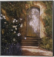 Garden Door, Broughton Castle Fine-Art Print