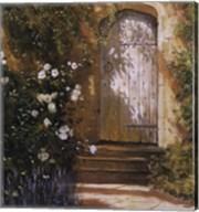 Garden Door, Broughton Castle Fine-Art Print