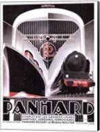 Panhard Lines 16x12 Fine-Art Print