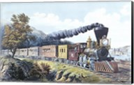 American Express Train Fine-Art Print