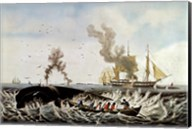 Currier and Ives - Whale Fishery Fine-Art Print