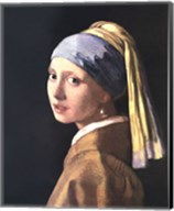 Girl with a Pearl Earring, c.1665 Fine-Art Print