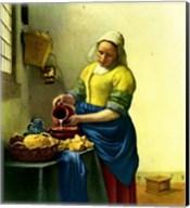 The Milkmaid Fine-Art Print