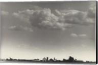 Farm and Clouds Fine-Art Print