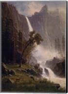 Bridal Veil Falls, Yosemite, ca 1871-73 Fine-Art Print