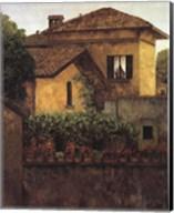 Golden Villa Fine-Art Print