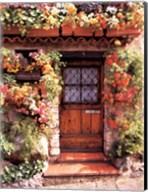 Flower Cottage Fine-Art Print