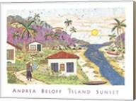 Island Sunset Fine-Art Print