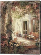 Sunlit Terrace Fine-Art Print