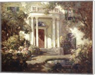 Front Porch in Dappled Sunlight Fine-Art Print