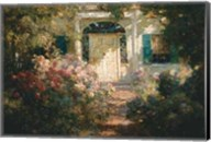 Doorway and Garden Fine-Art Print
