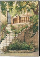 Courtyard in Provence Fine-Art Print