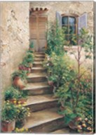 Stairway in Provence Fine-Art Print