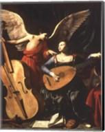 St. Cecilia and the Angel Fine-Art Print