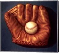 Baseball Mitt I Fine-Art Print