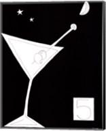 Black and White Martini I Fine-Art Print
