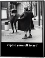 Expose Yourself to Art Fine-Art Print