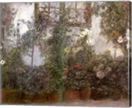 Jardin dans la Ville Fine-Art Print