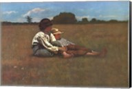 Boys in a Pasture Fine-Art Print