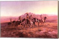 Sun River War Party Fine-Art Print