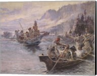 Lewis and Clark On The Lower Columbia Fine-Art Print