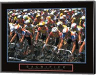 Sacrifice - Starting Line Bicycle Race Fine-Art Print