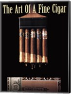 Art of a Fine Cigar Fine-Art Print