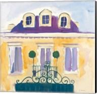 Le Maison Jaune I Fine-Art Print