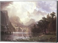 Sierra Nevada in California Fine-Art Print