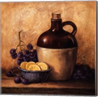 Jug with Grapes and Lemons Fine-Art Print