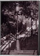Les Escaliers De Montmartre Fine-Art Print