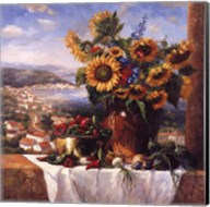 Sunflower View II Fine-Art Print