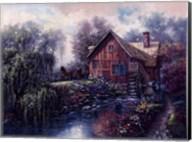 Willow Creek Mill Fine-Art Print