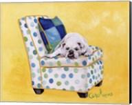 Sidney The Bull Dog (Polka Dot) Fine-Art Print