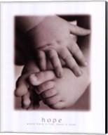 Hope - Infant Hands Feet Fine-Art Print