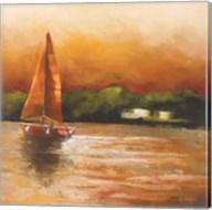 Majorcan Sail I Fine-Art Print