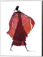 Samburu In Beaded Earrings Fine-Art Print